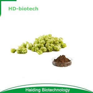 Natural Hops Flower Extract Powder 5% Xanthohumol By HPLC