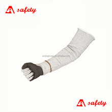 cut resistant level 5 hand wrist and arm protection safety sleeves