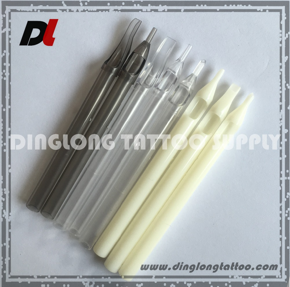 Disposable High Quality Plastic Long Tattoo Needle Tip