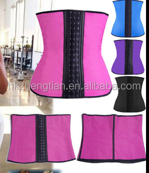 f22c001ef 2017 Hote sell Sport Waist Cincher Tummy Girdle Belt Body Shaper Trainer  waist trainer latex waist