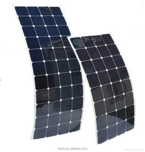 Semi Flexible High Efficiency Sunpower Solar Panel 80w/100w/120w