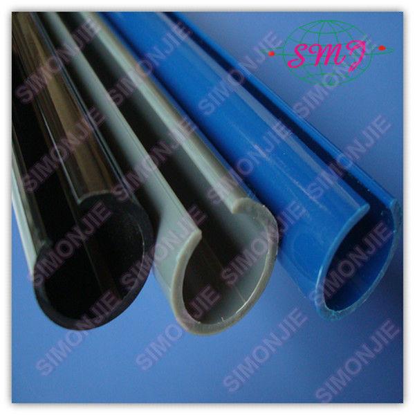 Extrudé balck couleur en plastique pvc tuyau de protection
