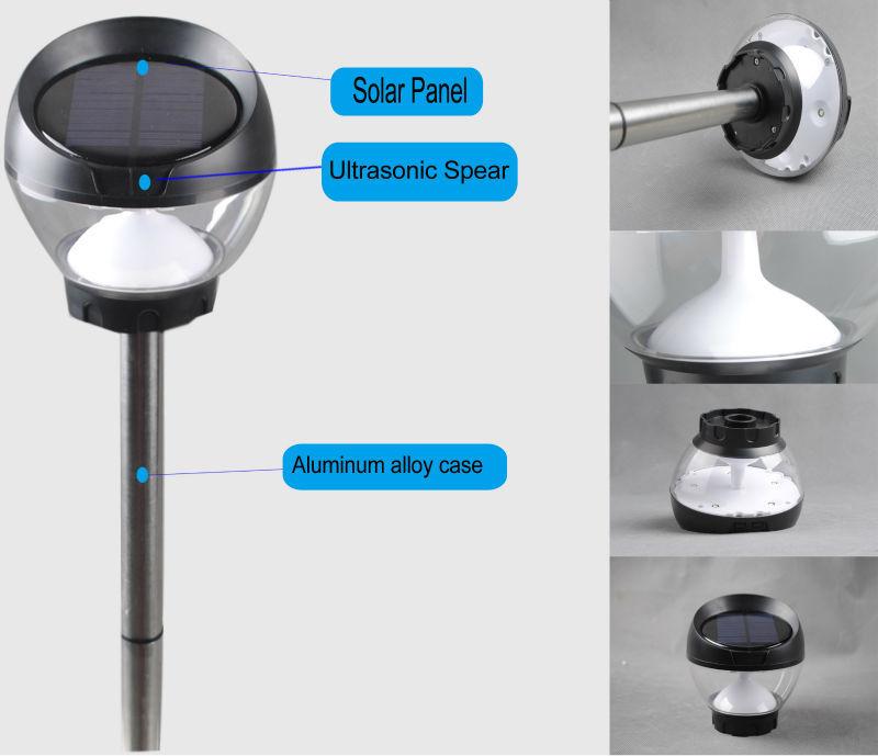 1w Waterproof Arduino Solar Motion Sensor Led Outdoor Light