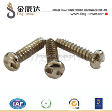 carbon steel hardened pan head philip self tapping screw b type