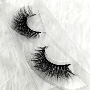 Stock Wholesale Supersoft Imitated Siberia 100% Real Mink Eyelash
