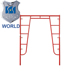 Easy Climbing 5*5 Feet Tubular Steel Scaffolding System For Construction