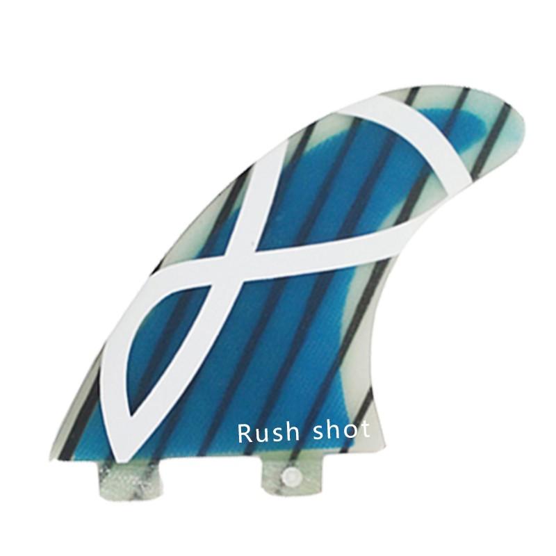 Surfboard Fin / Tail Rudder Three-fin Combination Push
