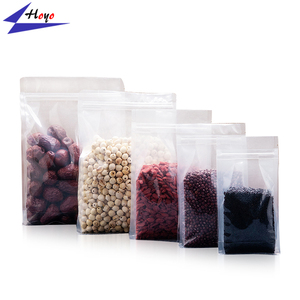 Alibaba Big Discount Flat Bottom Laminated Bag, Different Types Square Bottom Plastic Carry Bag