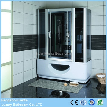 2 Person Jetted Tub Shower Combo With Steam Sauna Function