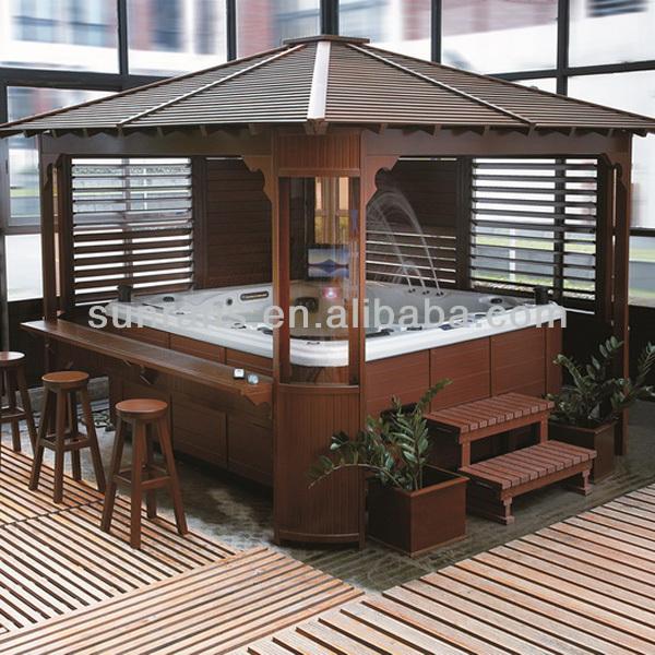 Pi venduti cinese da giardino in legno vasca for Vasca tartarughe da esterno
