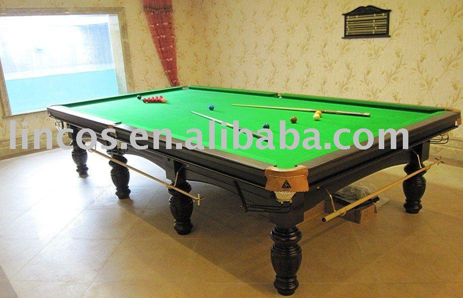 12ft standard dimensioni biliardo tavolo da biliardo biliardo e tavoli da biliardo id prodotto - Dimensioni tavolo biliardo casa ...