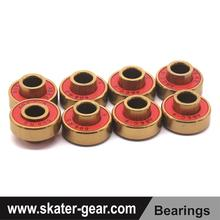 SKATERGEAR ceramic ball bearing skateboard red skate bearings