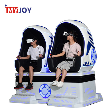 Amusement ride virtual reality simulator action movies new 9d vr egg cinema