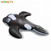 New design high quality sea large inflatable cartoon dolphin