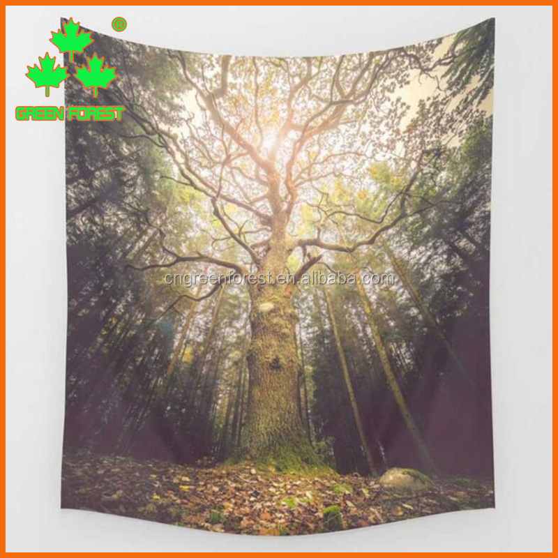 fashion Large tree wall tapestry for home decor