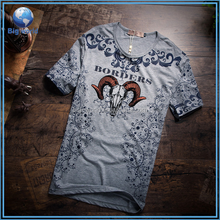 2015 New style men summer sublimation T-shirt which could be customize t shirt