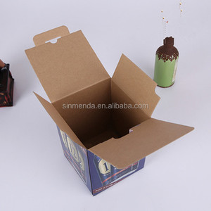 Personalize corrugated full printing cardboard box mailing carton box for Juice / Beer / Energy Drink packaging