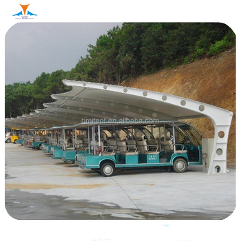 Pvdf Tensile Membrane Roof Sun Shades Awning Canopy Steel Structure Car Porch Design Car Parking Shed Roof View Car Parking Shed Roof Timi Product Details From Guangzhou Timi Membrane Structure Co Ltd