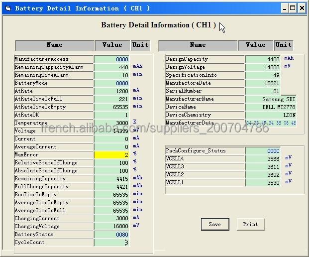 Portable Laptop Battery Tester For Lenovo Dell Hp Ibm Acer Asus ...