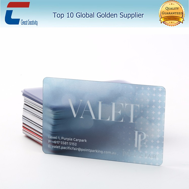 Excellent Plastic See Through Business Cards Ideas - Business Card ...