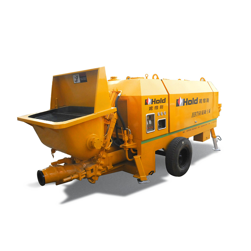 Liugong Electric and diesel Hydraulic Trailer Small Concrete Pump in UAE