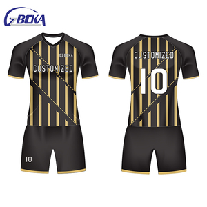 OEM sublimation custom soccer shirts jersey set germany sport uniform for soccer