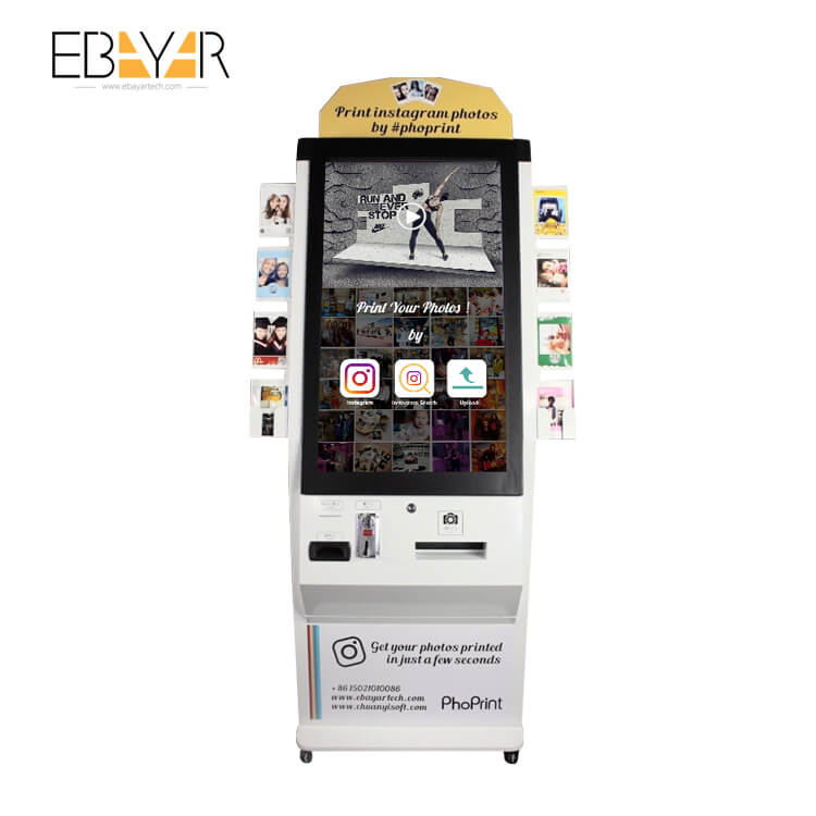 P525L Thermal Printer Photobooth Kiosk for Photo Booth Service