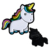 Customized colorful soft enamel pin unicorn lapel pin/metal unicorn pin badge