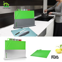 Custom chopping silicone cutting board