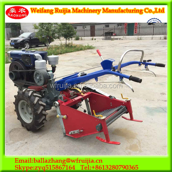 15hp 2wd Mini Walking Tractor Power Tiller Agricultural Farmer ...