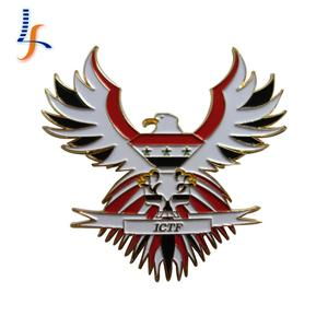 custom high quality car badge Eagle lapel pins eagle electric scooter