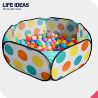 eco friendly hot selling kids pop up ball pit tent play den indoor & outdoor children tent for play