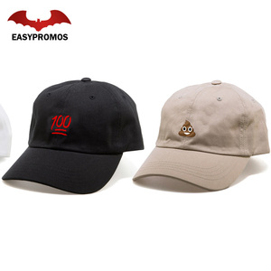 High Quality Custom 5/6 Panel Man Woman Dad Cap Hat with Embroidery Logo