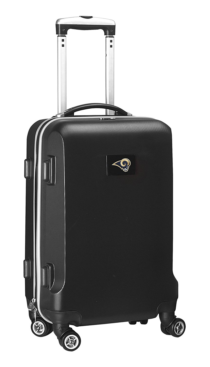 NFL St. Louis Rams Hardcase Domestic Carry-On Spinner, Black, 20-Inch