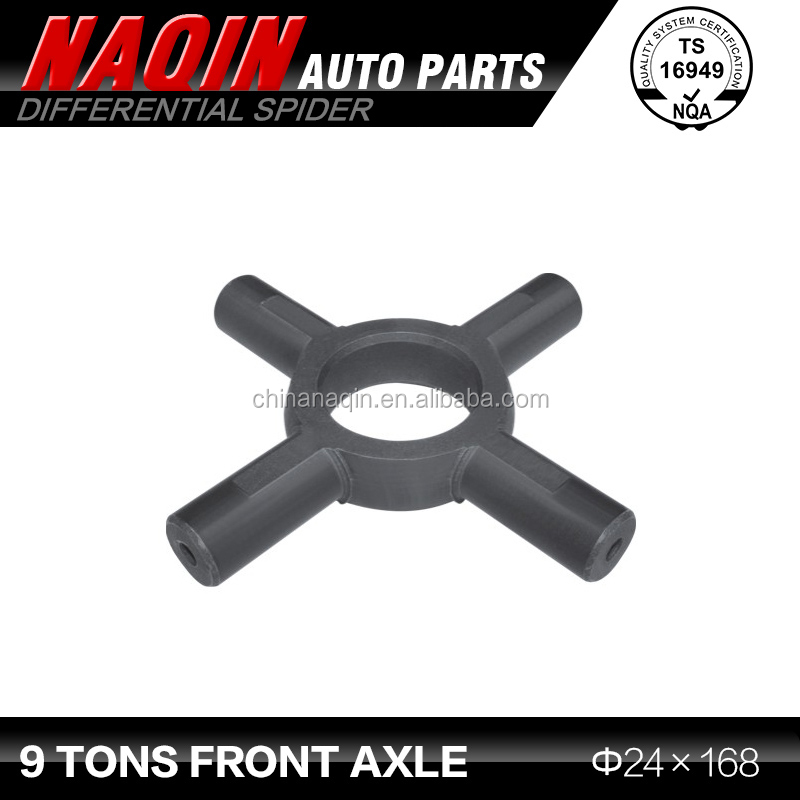 Universal Joint cross 9 Tons front axle 24*168 Differential spider