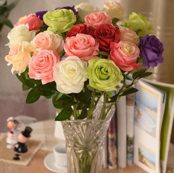 Low Price Artificial Flowers Wedding Flower Silk Roses For Wedding