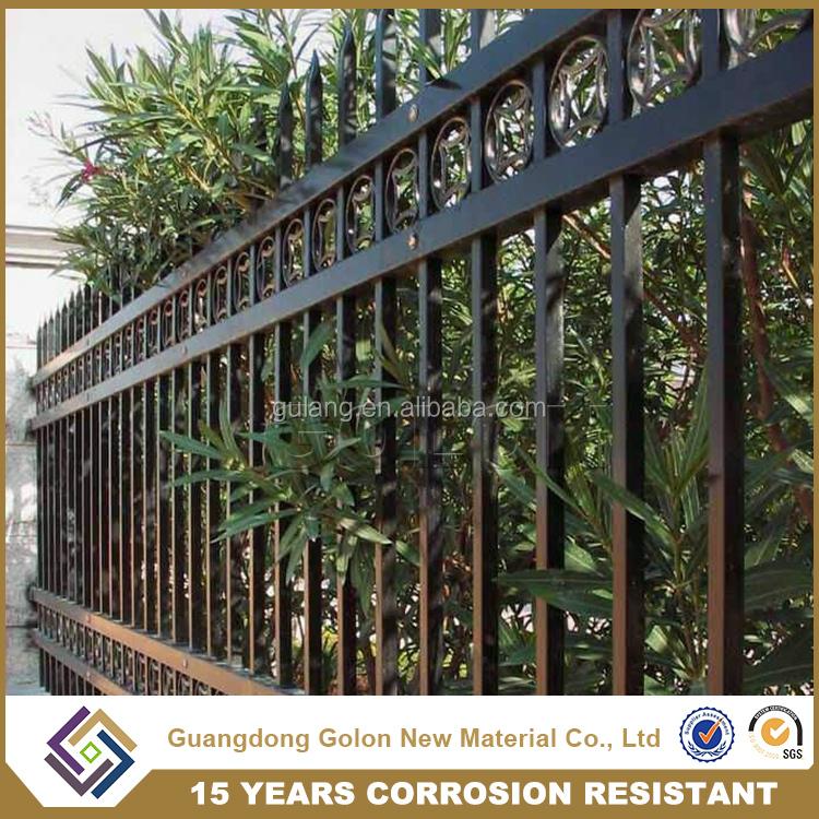 Maison De jardin Design pas cher clôture de fer en acier ...