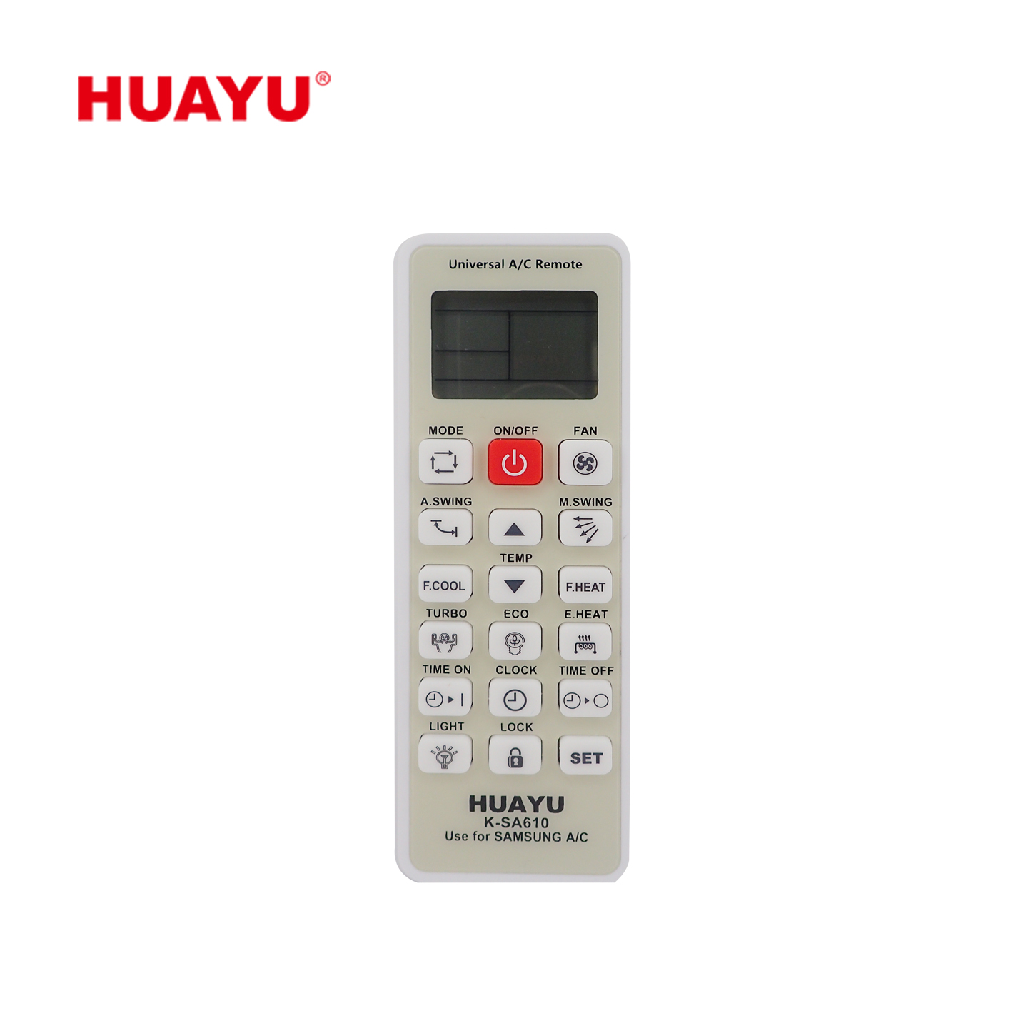 K-SA610 Replacement Samsung AC Remote Control丨HUAYU - SINGLE BRAND
