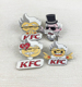 High quality imitation hard enamel KFC lapel pin,customized badges wholesale