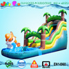 new design big water slide for sale,tropical inflatable big water slide for sale