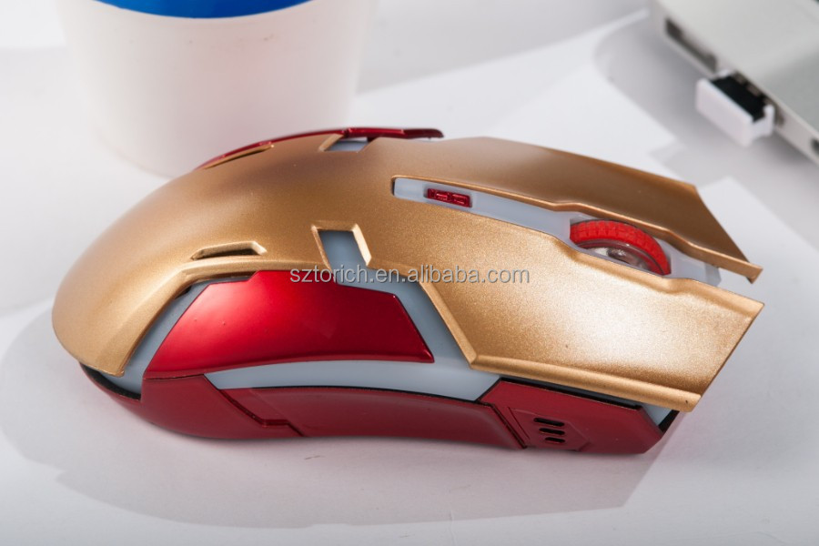 2015 Hot Sale Wireless Game Mouse 2.4G Bluetooth Optical Mouse From Factory Manufactory