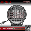 "High power off road 4d round 4x4 9"" 320w 4x4 led driving light"