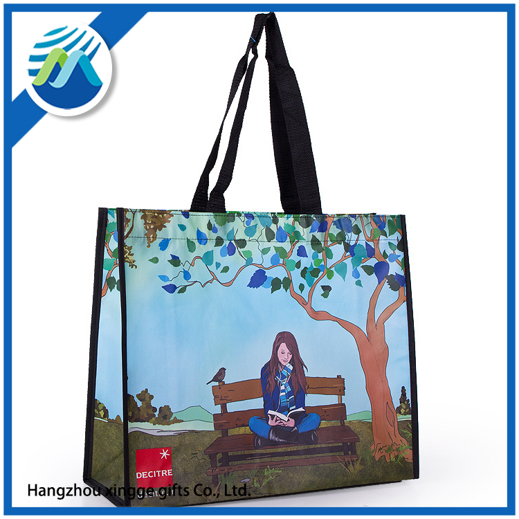 Non-woven Reusable Kids Carrying Shopping Gift Tote Bag for Party Favor