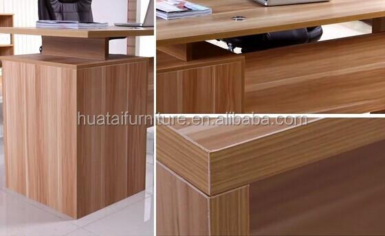 Moderne populaire mobilier de bureau bureau en bois table de