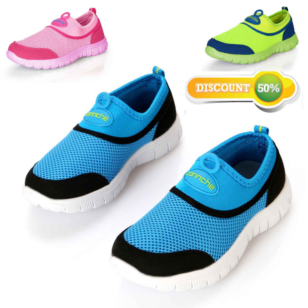 2015 New Children Shoes Kids Sneakers Breathable Child Sport  Boys Girls Flats Running Shoes Size 26-37 Hot Sale Free Shipping