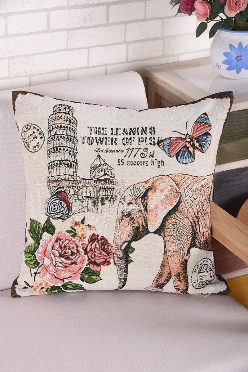 OEM/ODM design cushion cover in hand embroidery designs