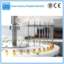 Shanghai factory automatic glass bottle filling machine,600ml syrup filling machine video