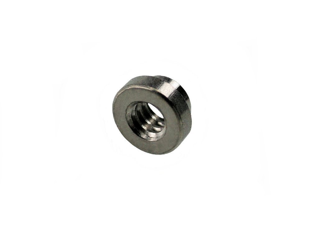 Unicorp ECLSS-024-3 Round Captive Nut Self-Clinching, 10-24 Thd x .091 thk, Stainless QTY-25