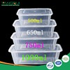Rectangular Clear Plastic Fruit Packaging Box container