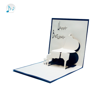 2018 Latest Handmade Newly Favor Reception Card Wording Music Inserts Recordable Birthday Cards With Name